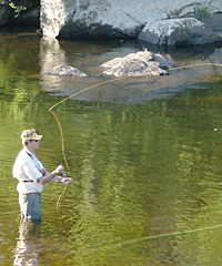 fly fishing ausable river