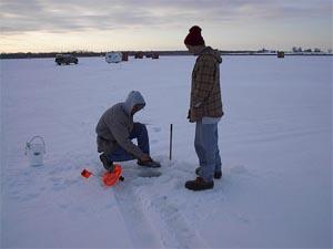 New york ice fishing within adirondack new york 6 million for Ice fishing ny